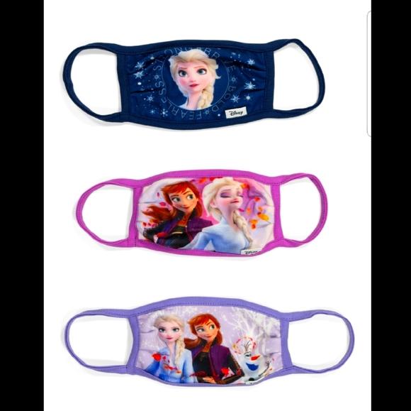 Frozen Face Masks - Pack of 3